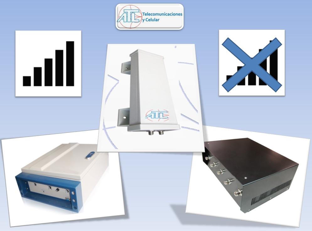 Antenas para cobertura e inhibición fabricados por ATL Telecomunicaciones